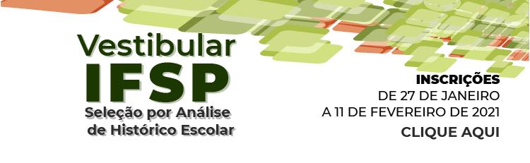 Vestibular IFSP 2021.1