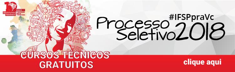 Processo Seletivo 2º semestre - 2018